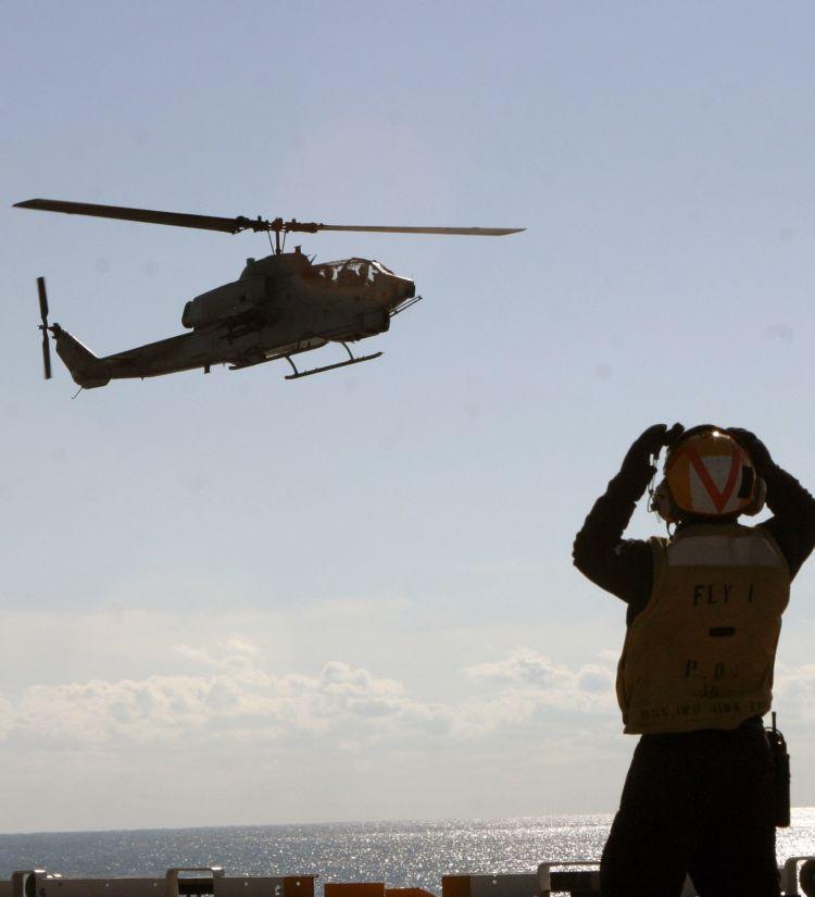 Image: U.S.M.C. AH-1 Super Cobra Helicopter