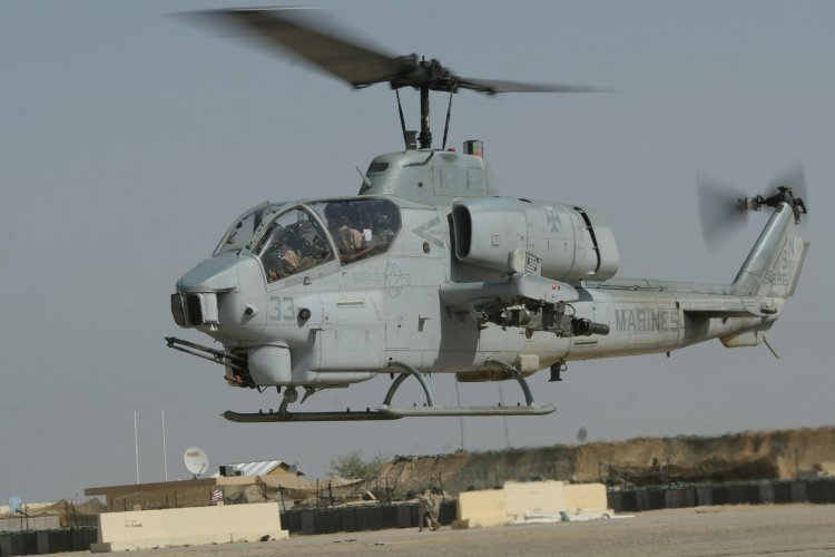 Image: U.S.M.C. AH-1W Attack Helicopter