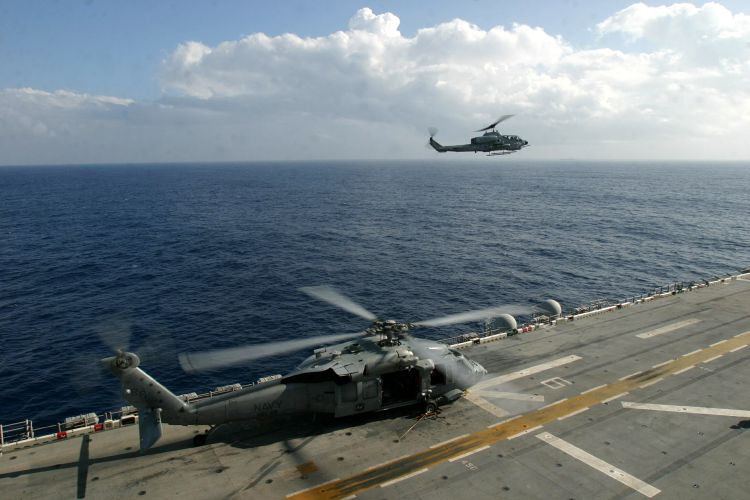 Image: United States Marine Corps AH-1W Super Cobra Helicopter