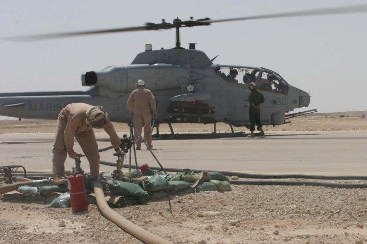 U.S.M.C. AH-1W Super Cobra Helicopter [Operation Iraqi ...