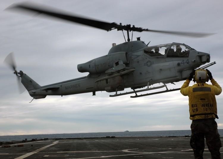 Image: U.S. Marine Corps AH-1W Cobra Helicopter