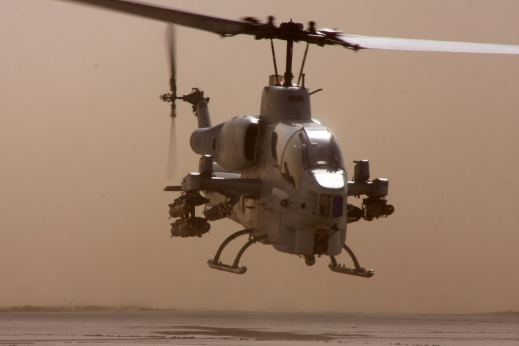 Image: United States Marine Corps AH-W Super Cobra Helicopter