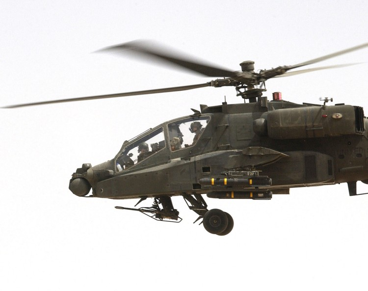 Image: U.S. Army AH-64D Longbow Apache helicopter