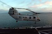 Image: U.S.M.C CH-46E Sea Knight Helicopter