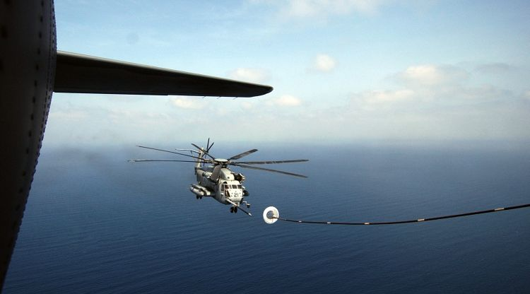 Image: United States Marine Corps CH-53 Super Stallion Helicopter