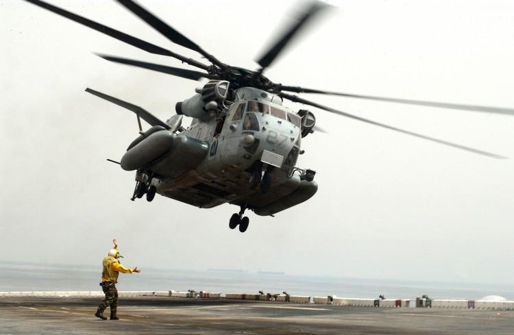 Image: U.S. Marines CH-53 Super Stallion Helicopter