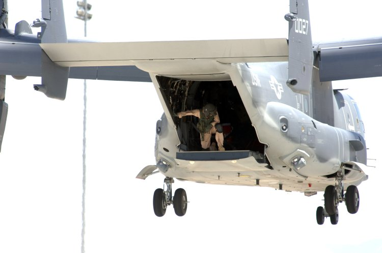 Image: U.S. Air Force CV-22 Osprey Tilt-rotor