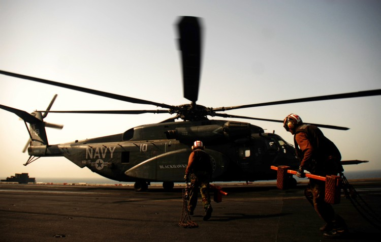 Image: U.S. Navy MH-53E Sea Dragon Helicopter