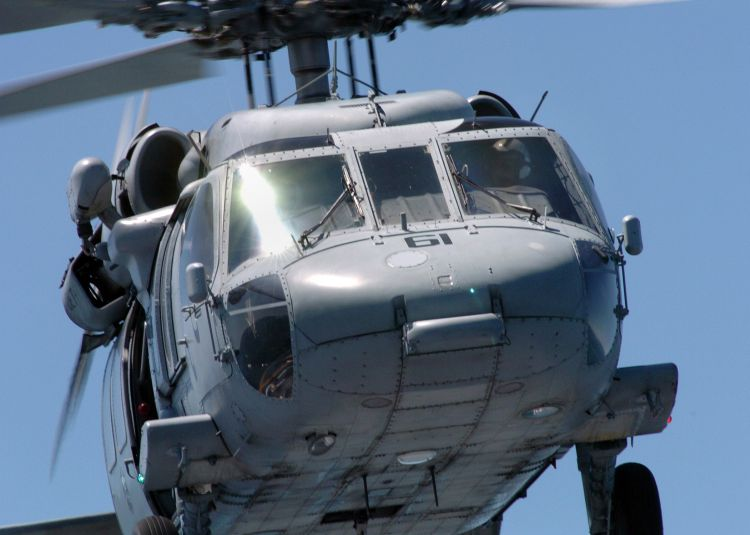 Image: United States Navy MH-60S Seahawk Helicopter
