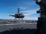Image: French Navy Alouette III Helicopter