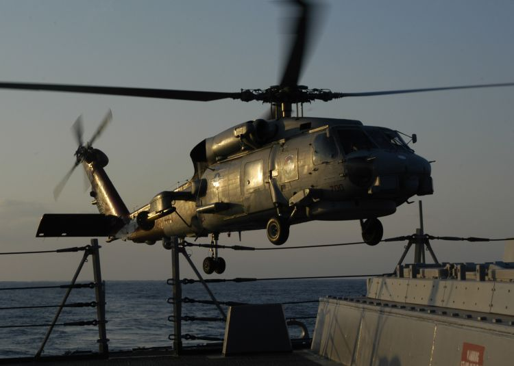 Image: U.S. Navy SH-60 Seahawk Helicopter