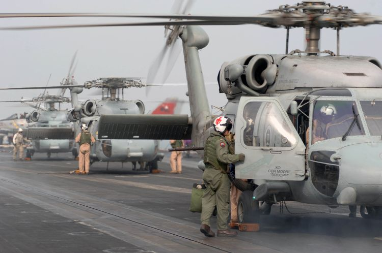 Image: U.S. Navy Seahawk Helicopters