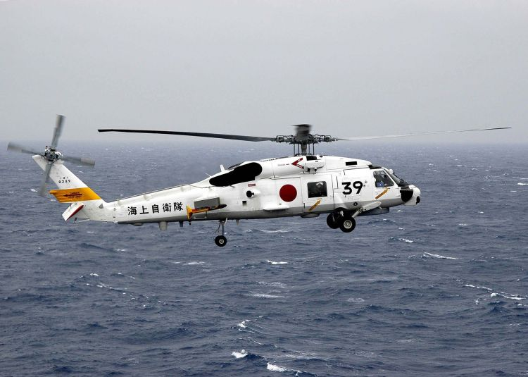 Image: Japan Maritime Self Defense Force SH-60J Helicopter