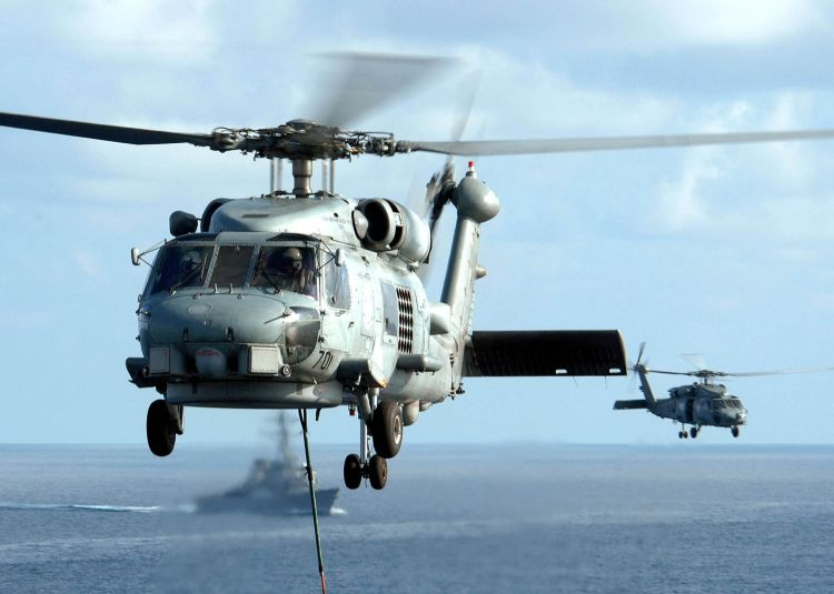 Image: United States Navy SH-60H Seahawk Helicopter