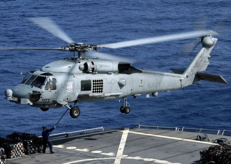 Image: SH-60B Seahawk Helicopter