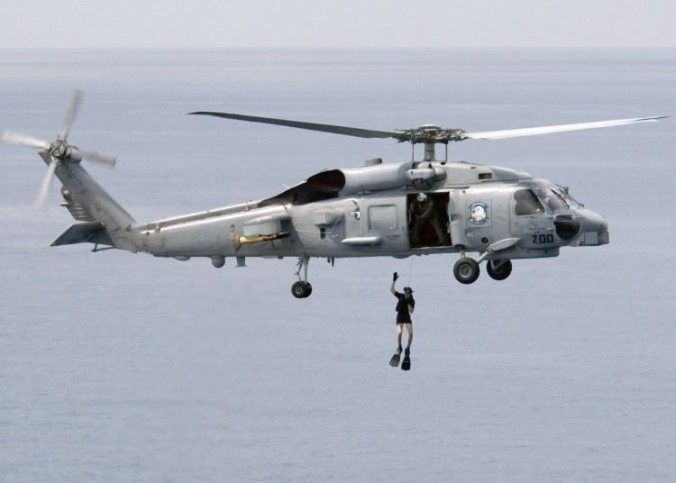 Image: U.S. Navy SH60B Seahawk Helicopter