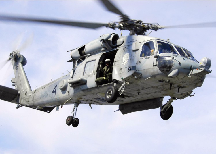 Image: U.S. Navy SH60F Seahawk Helicopter