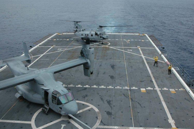 Image: U.S. Marine Corps V-22 Osprey Tilt-rotor