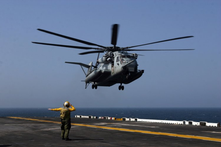 Image: U.S. Marine Corps CH-53E Super Stallion Helicopter