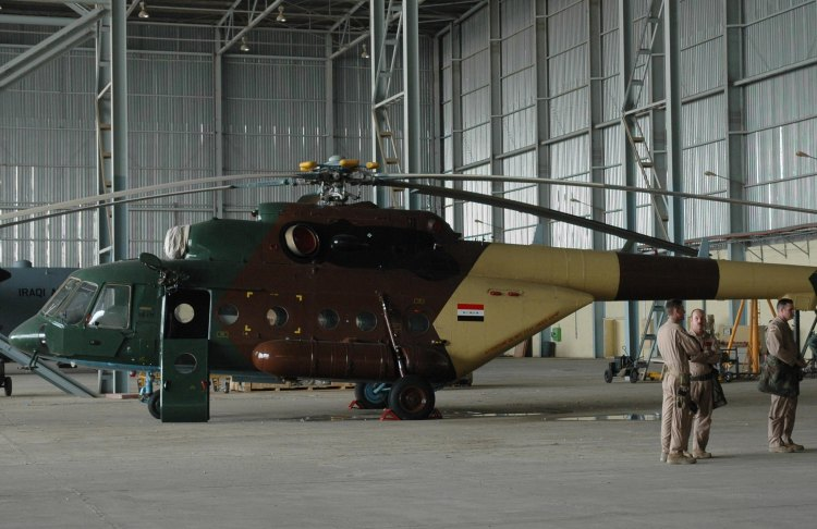 Image: Iraq Air Force MI-17 Helicopter