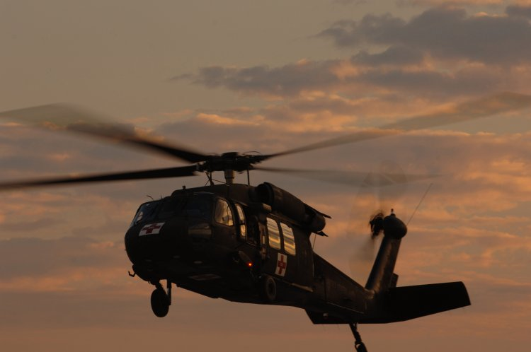 U.S. Army UH-60 Black Hawk Helicopter