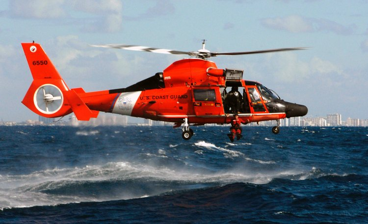 Image: U.S. Coast Guard HH-65 Dolphin Helicopter