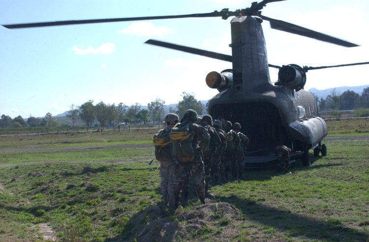 Image: United States Army CH-47 Chinook Helicopter