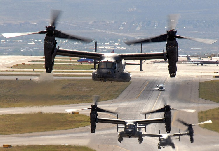 Image: Unites States Air Force CV-22 Osprey