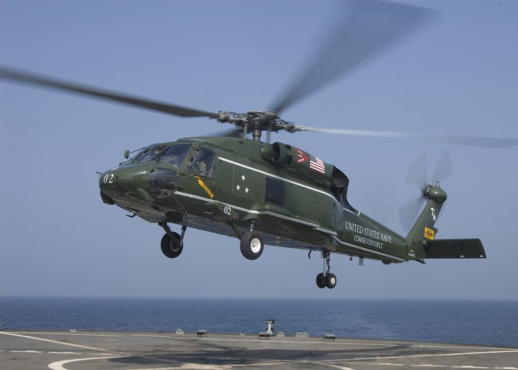 United States Navy Sh60F Helicopter