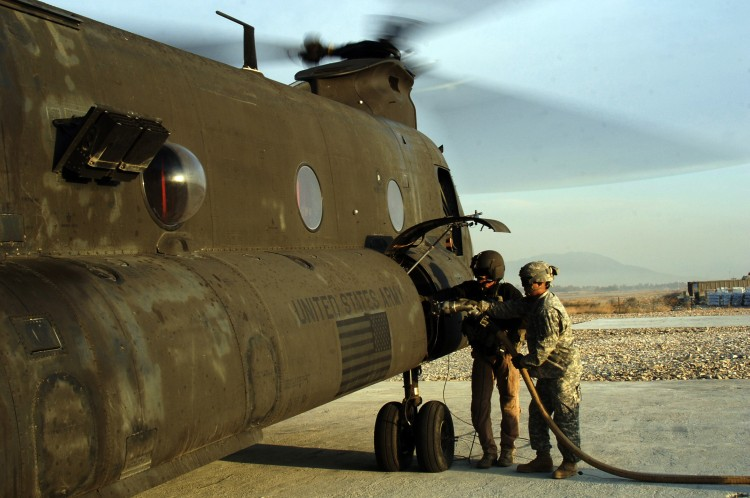Image: U.S. Army CH-47 Chinook Helicopter