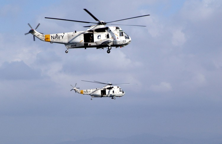 Image: U.S. Navy H-3 Sea King Helicopter