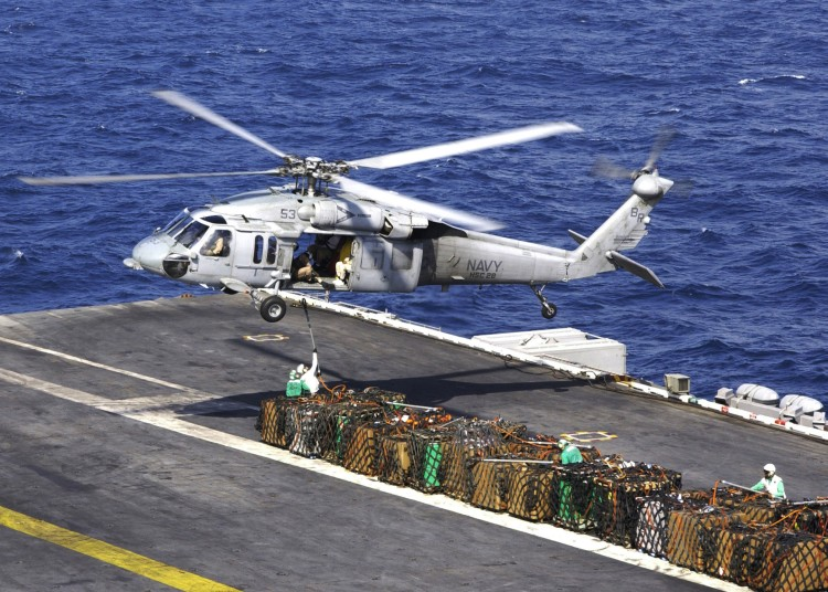 Image: U.S. Navy MH-60 Knighthawk Helicopter