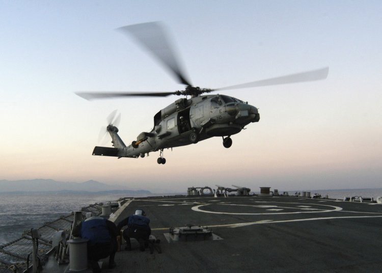 Image: U.S. Navy SH-60 Helicopter