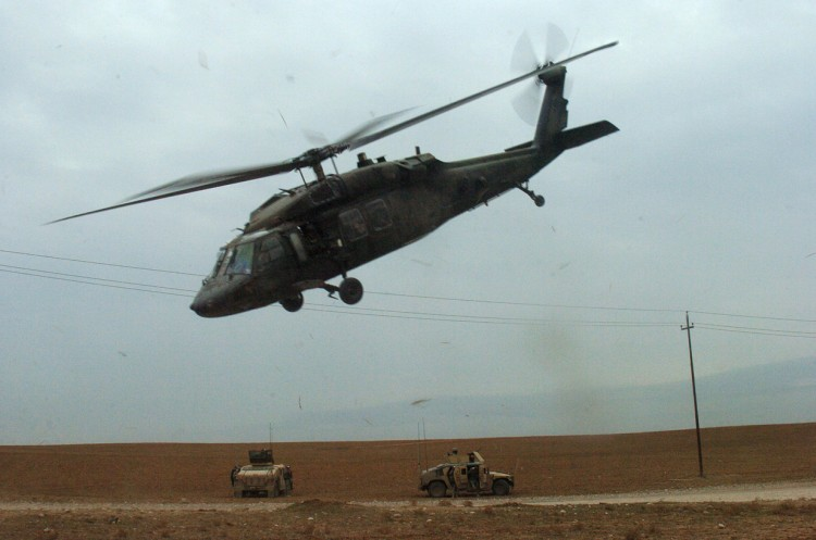 Image: U.S. Army UH-60 Black Hawk Helicopter