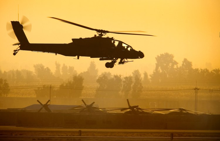 Image: U.S. Army AH-64 Apache Attack Helicopter