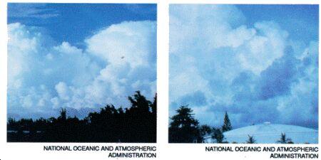 Image: Cumulonibus clouds